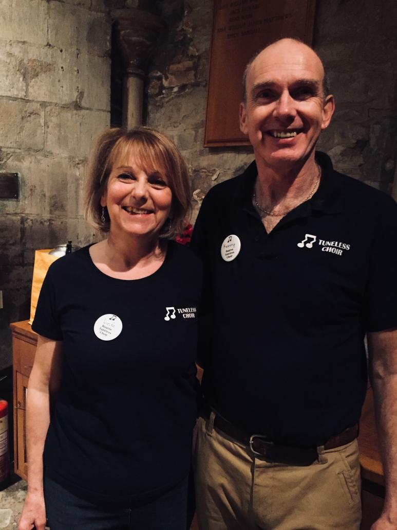 Linda Gunthorp and Kenny Ring