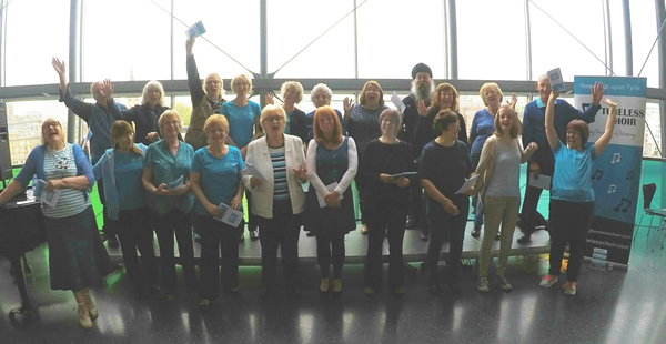 Newcastle Tuneless Choir at the SAGE