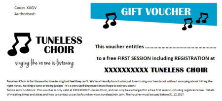 Registration Gift Voucher