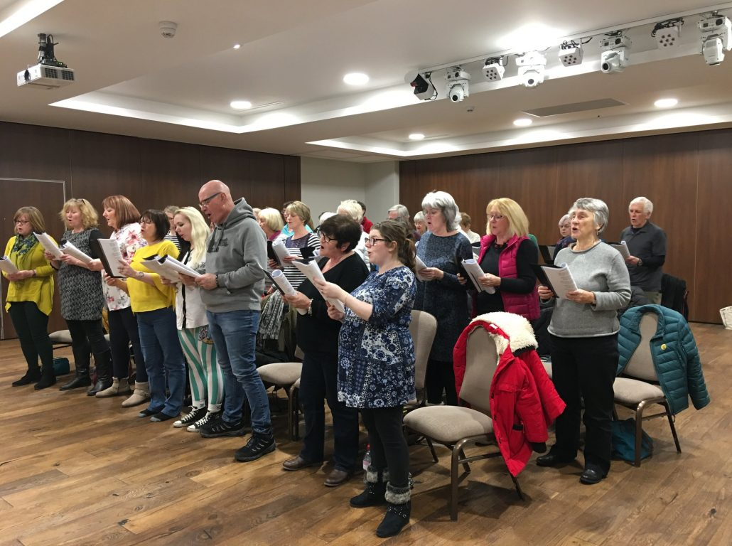 A Kendal Tuneless Choir session