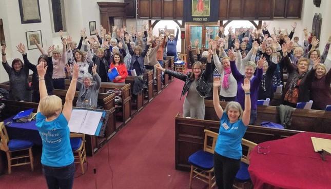 Chesterfield Tuneless Choir