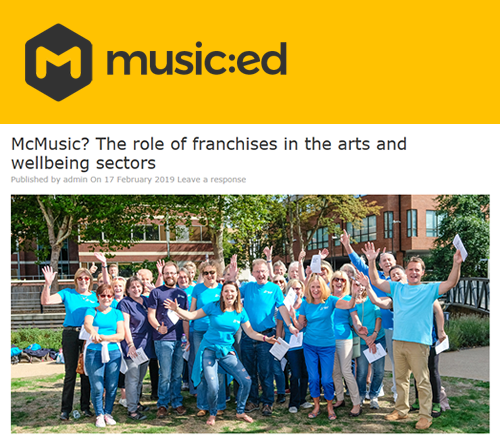 Music Ed: McMusic - the role of franchises in the arts and wellbeing sectors