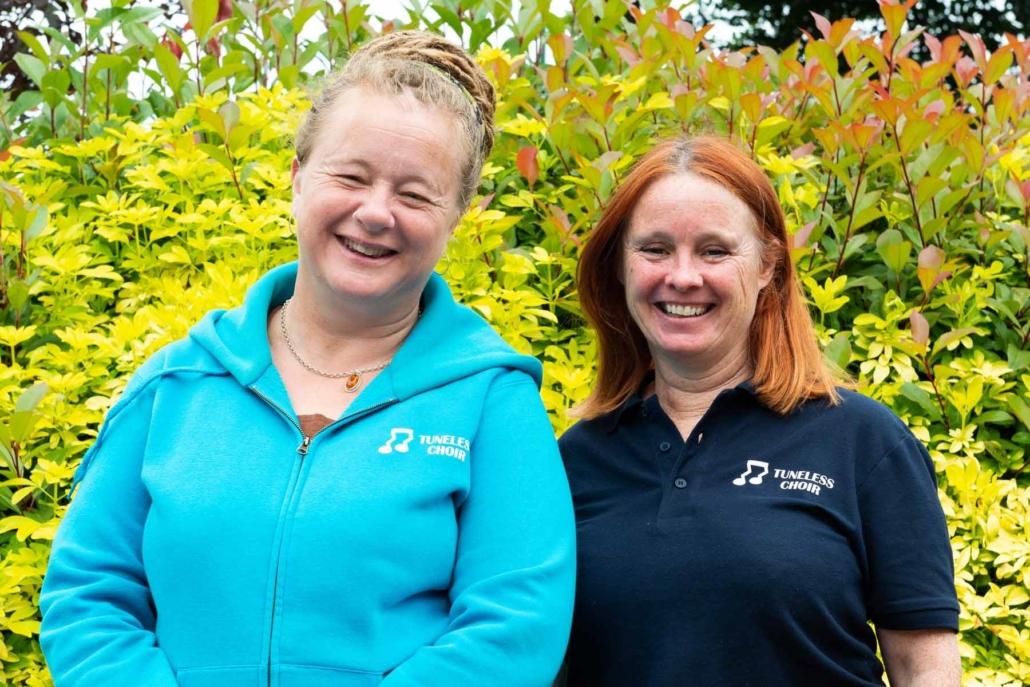 Sue Scargill and Penny Clark